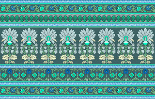 Traditional-illustration-indian-motif-textile-border-210048