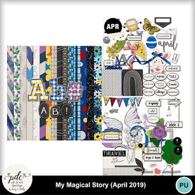 MY MAGICAL STORY APRIL 2019 & FREEBIES