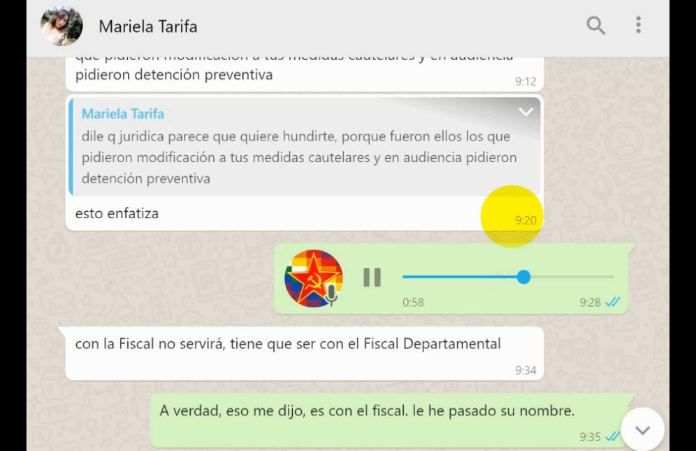 Agustín y Mariela Tarifa coordinaron toda la estrategia para cerra el caso que implicaba al primero / RRSS