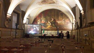 Evento proiezione a Montecitorio Roma