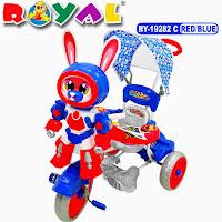royal robot kelinci sepeda roda tiga anak