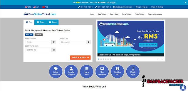 Bus Ticket Online Portal