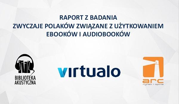 Jak e-czytają Polacy? Badanie Virtualo