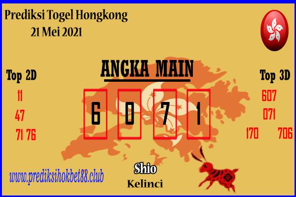 Bocoran Togel Hongkong 21 Mei 2021