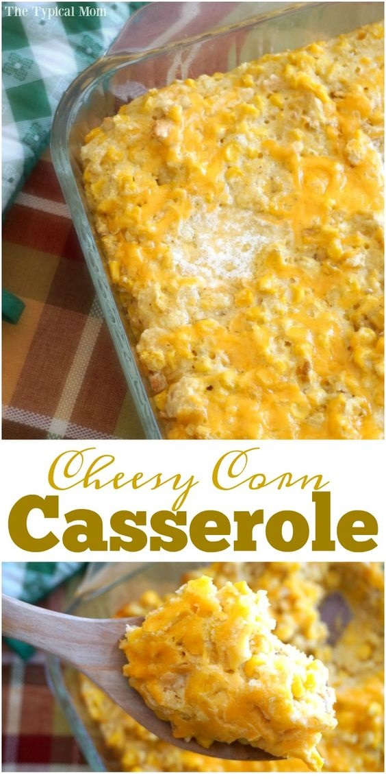Cream Corn Casserole Recipe