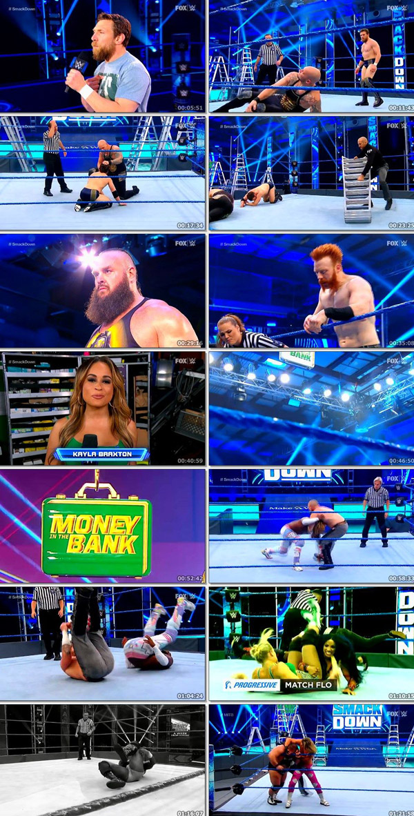 Download WWE Friday Night Smackdown 1st May 2020 ORG English HDTV 720p  480p movie