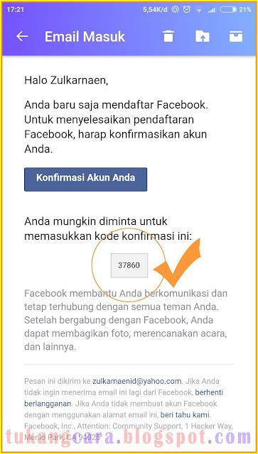 Mendaftar Facebook Lewat HP Android - Buat Akun Facebook Baru Lewat Hp