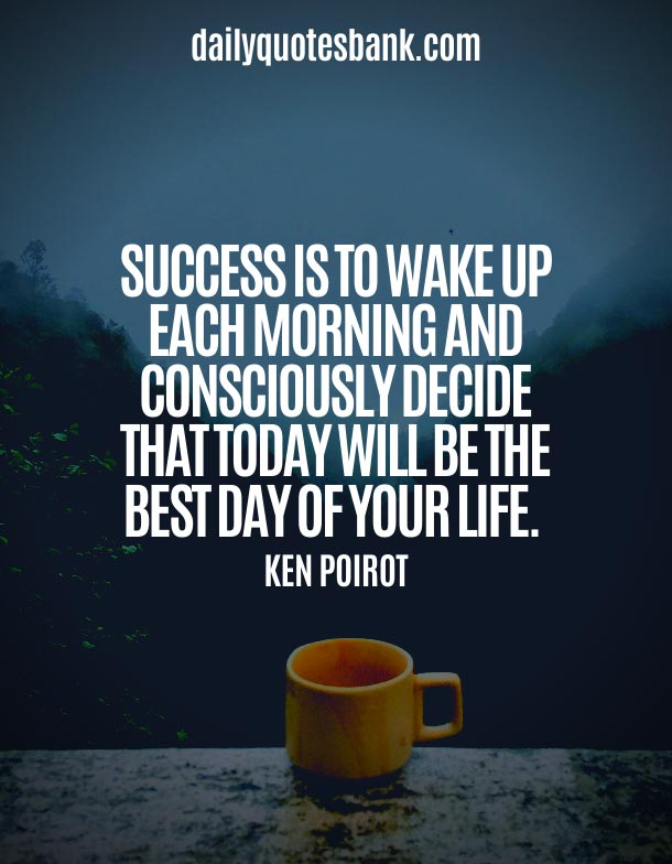 Morning Monday Quotes For The Start Of The Week