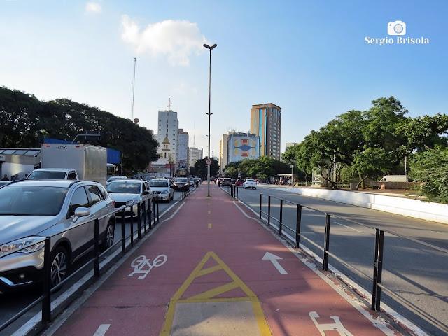 Vista de trecho da Avenida Bernardino de Campos - Paraíso - São Paulo