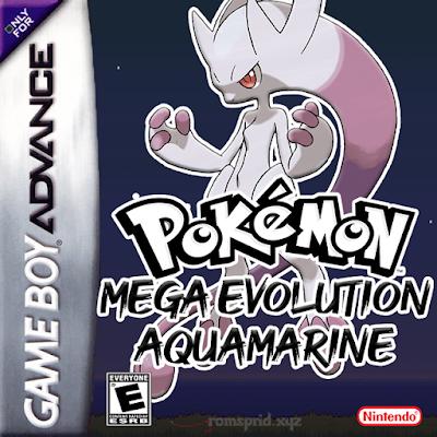 Pokemon Mega Evolution Aquamarine GBA ROM Hack Download