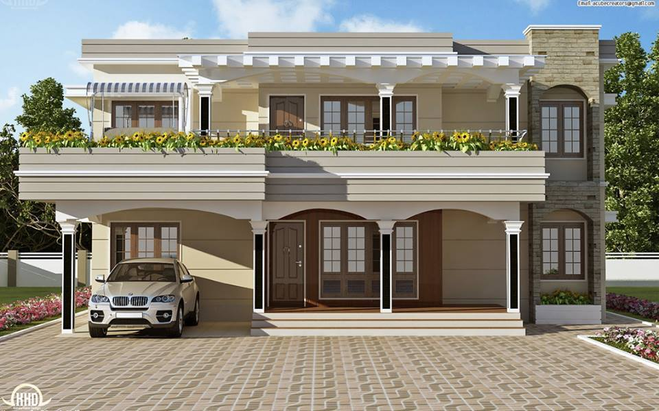The most beautiful house designs decor units for Most beautiful house plans