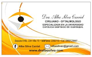 Tarjetas de visita para oftalmólogos