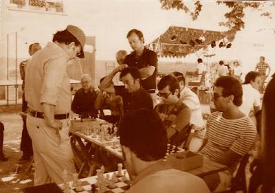 Simultáneas de ajedrez de Lucien Francino, Sant Llorenç d'Hortons 1978