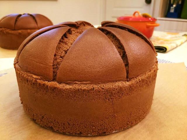 巧克力皇冠戚風蛋糕-chocolate-chiffone-cake2