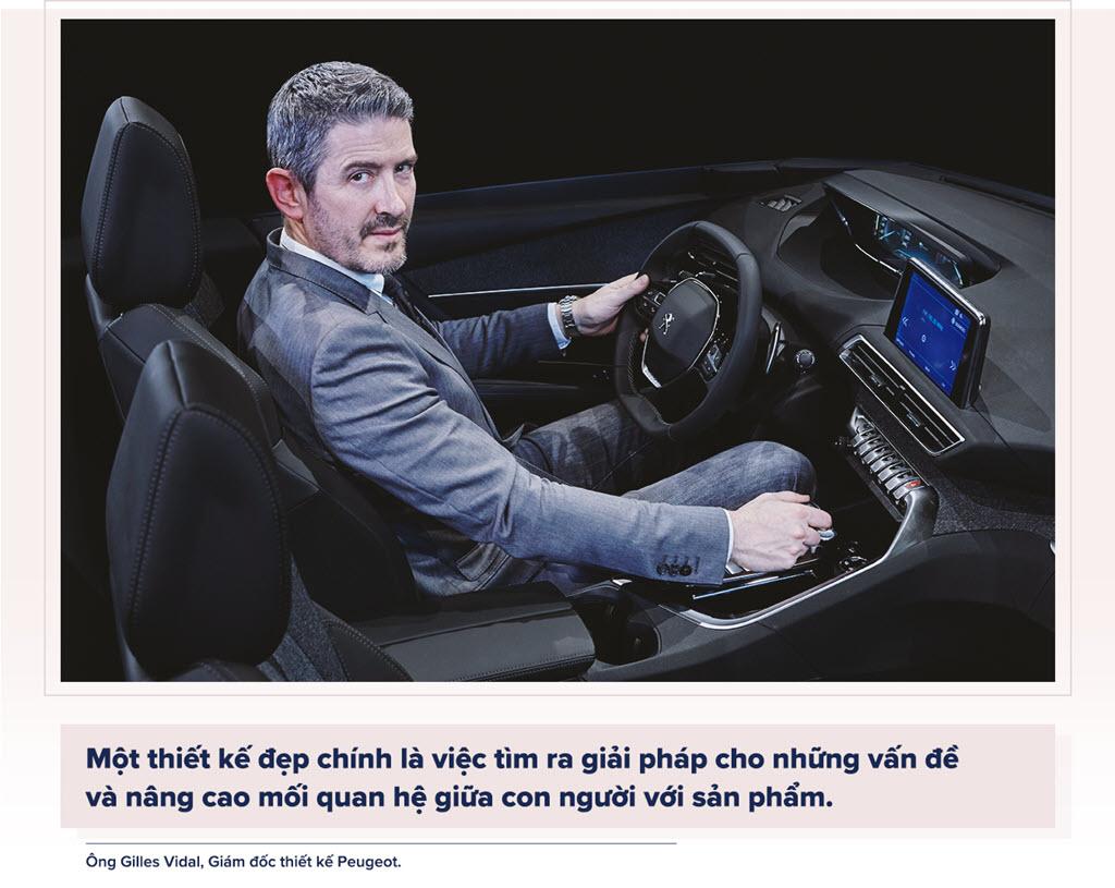 Cảm xúc từ khoang lái Peugeot New i-Cockpit