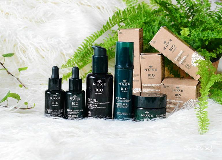 Nuxe BIO 100% naturalne, certyfikowane wegańskie kosmetyki pielęgnacyjne