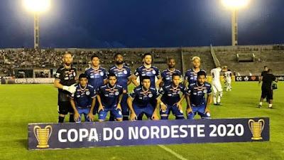 Confiança empata com o Botafogo-PB, no Almeidão