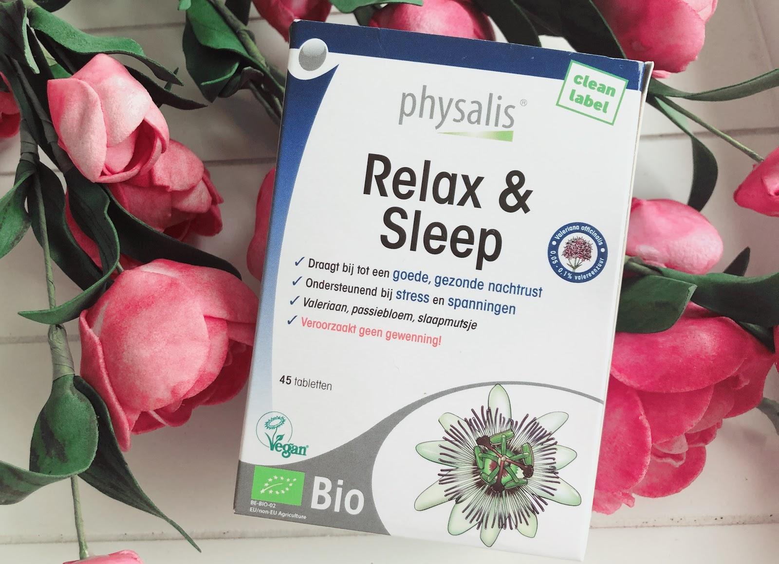 Physalis Relax & Sleep, voor een goede en gezonde nachtrust