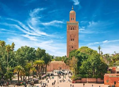 Marrakech en Août