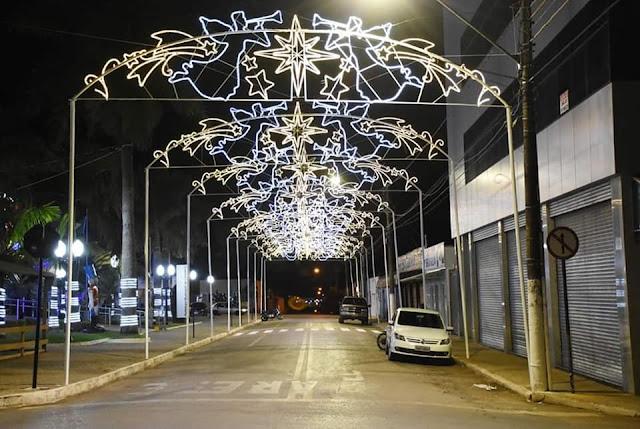 Cristalinas Goiás e o natal