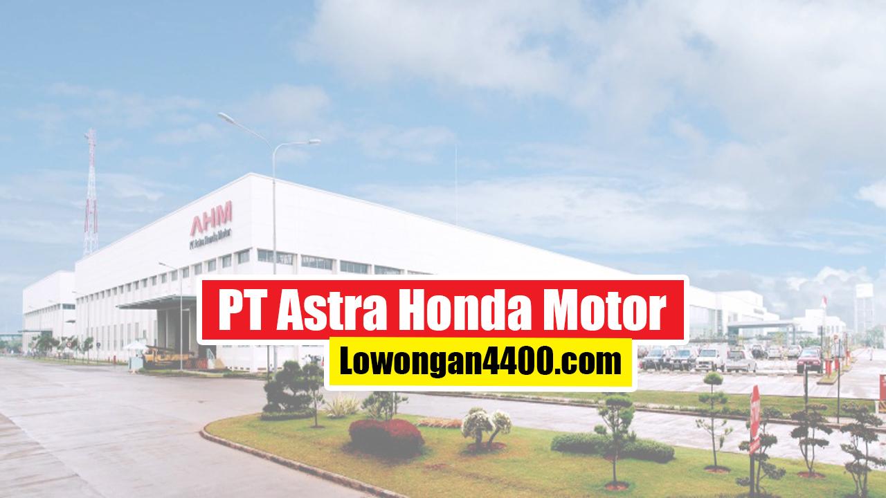 PT Astra Honda Motor 2020