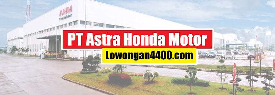 Operator Produksi PT. Astra Honda Motor 2021