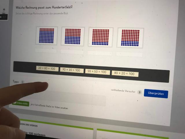 Lernen mit Sofatutor - Testaufgaben lösen