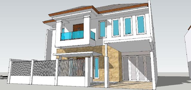 Perspektif 2 - renovasi rumah tangerang