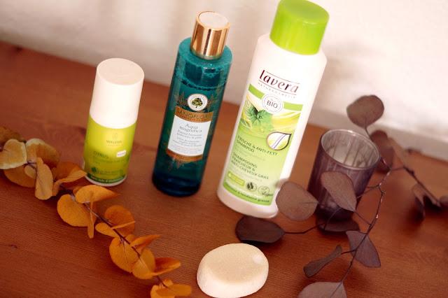routine produits de beauté bio