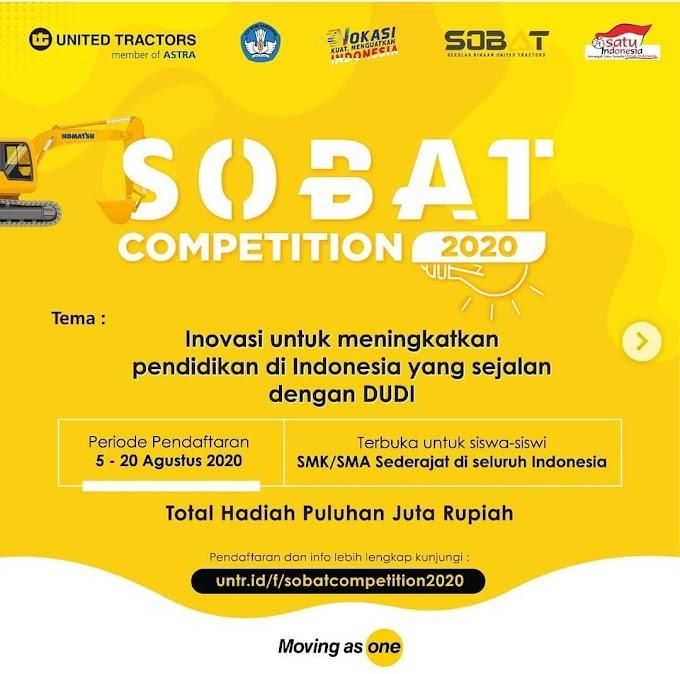 SOBAT Competition 2020 Total Hadiah Puluhan Juta Rupiah