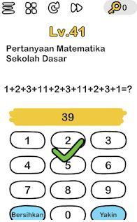Artikel ini akan membahas panduan mengerjakan soal matematika tentang membandingkan dua bilangan dengan. Pertanyaan Matematika Sekolah Dasar Brain Out Jawabannya Gini Area Tekno