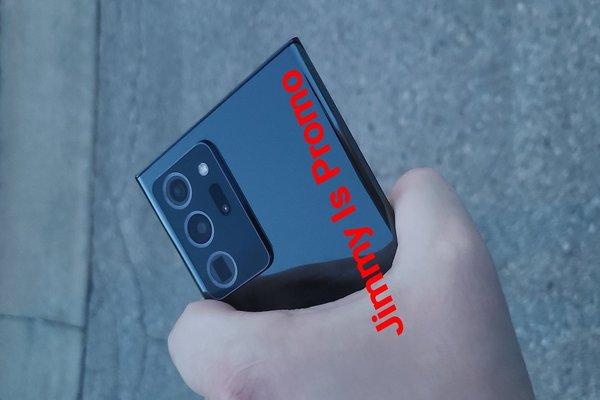 صور حديثة مسربة لهاتف Samsung Galaxy Note 20 Ultra