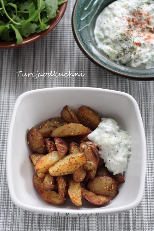 Ziemniaki pieczone z zatarem