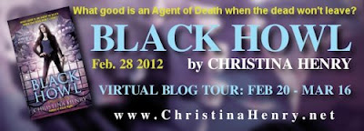 Interview with Christina Henry and Giveaway - March 8,  2012