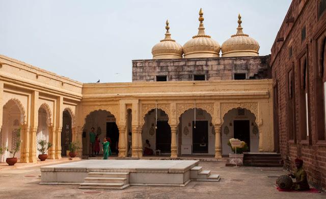 Fuerte de Mehrangarh por dentro