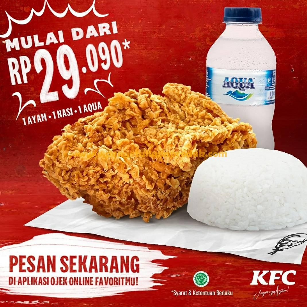 Promo KFC Terbaru Harga Spesial Periode 5 - 30 Juni 2020