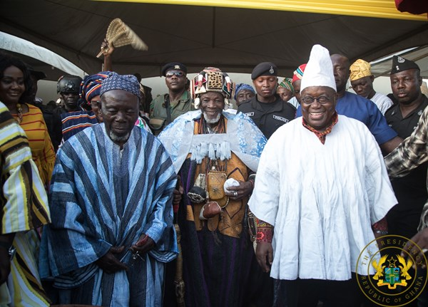 """Great Developments Lie Ahead In Dagbon"" – President Akufo-Addo"