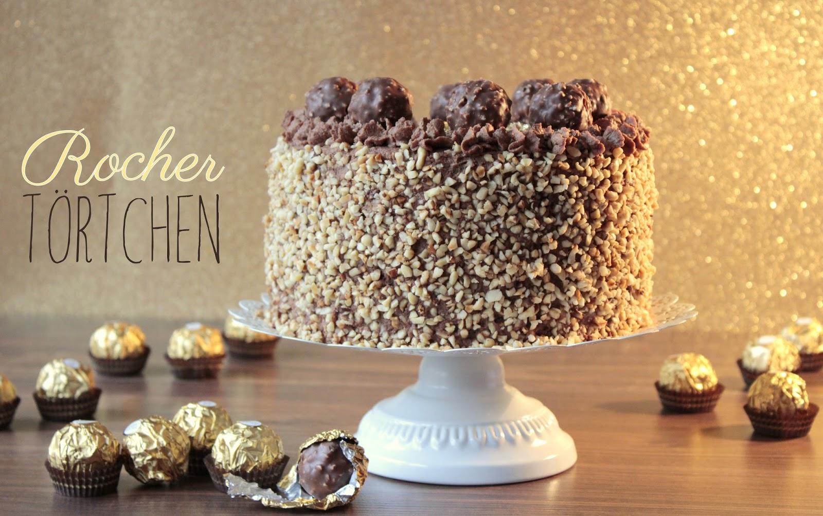 Miss Blueberrymuffin S Kitchen Goldene Zeiten Rocher Torte