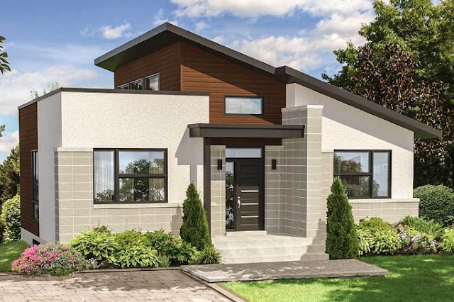 Profil Rumah Minimalis Tampak Depan