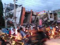 Video Amatir Dahsyatnya Gempa Aceh 7 Desember 2016