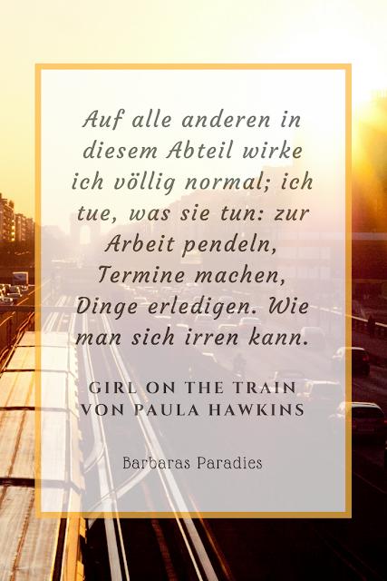 Buchrezension #128 Girl on the Train - Du kennst sie nicht, aber sie kennt dich. von Paula Hawkins