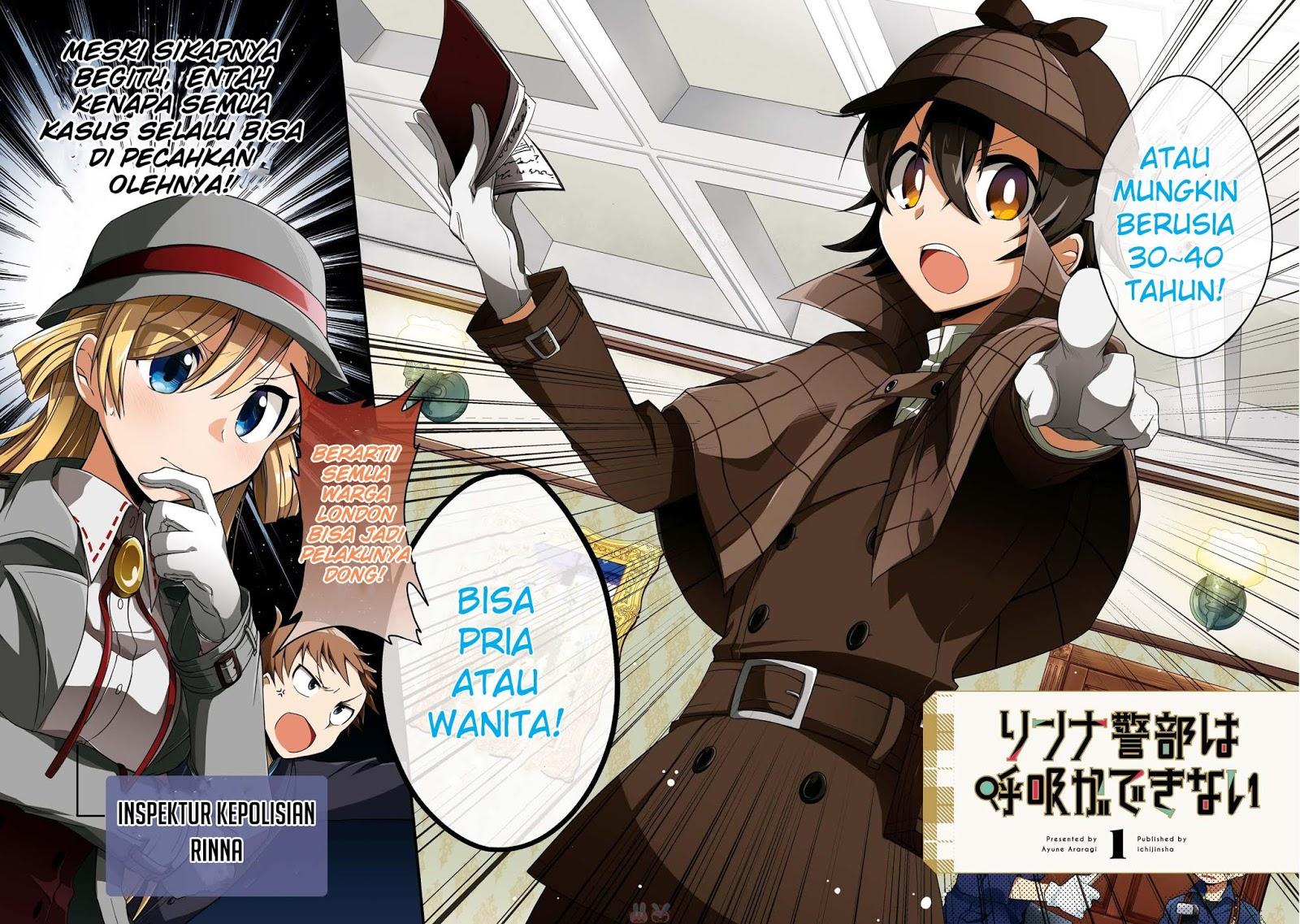 Baca Komik Linna Keibu wa Kokyuu ga dekinai Chapter 01 - Kintamaindo