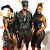 Dbanj pictured with Blac Chayna in Los Angeles