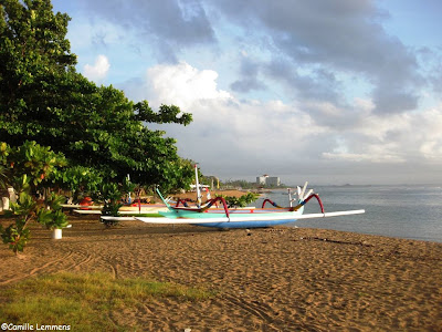 Sanur beach on Bali, Indonesia