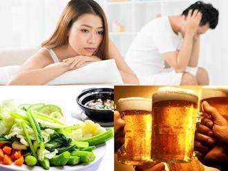Có những thói quen ăn uống này đừng hỏi vì sao ham muốn 'yêu' ngày càng giảm