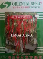 Produk Benih Oriental Seed, Cabe oriental Seed, Cabe Twist 42, Harga murah, LMGA AGRO