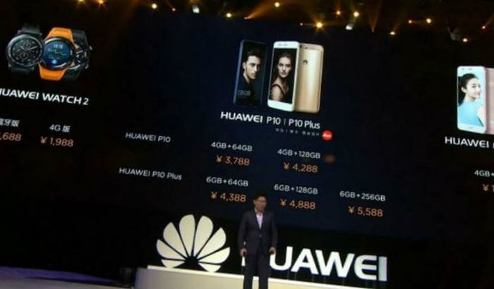 China officially launches sales of Huawei P10 and P10 Plus