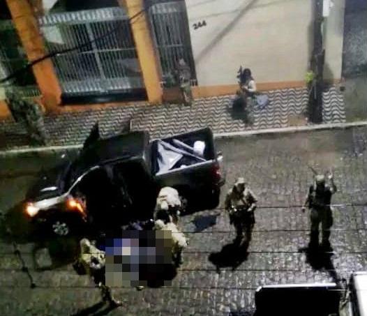 Assaltantes de bancos morrem em confronto com a polícia em Areia, na Paraíba; Um dos envolvidos era de Santa Cruz do Capibaribe