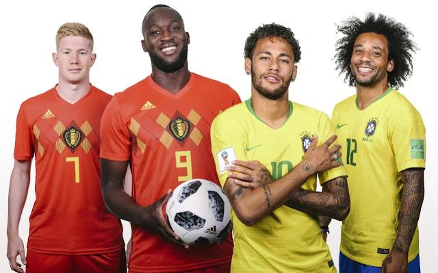 belgium vs brazil match