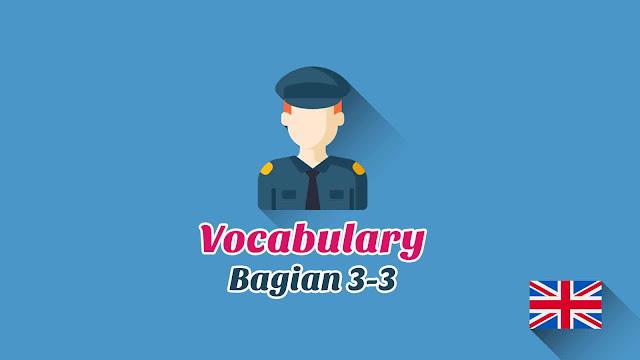 Kosakata Bahasa Inggris Profesi atau Pekerjaan Disertai Gambar, Audio Dan Pronunciation (Bagian 3-3)
